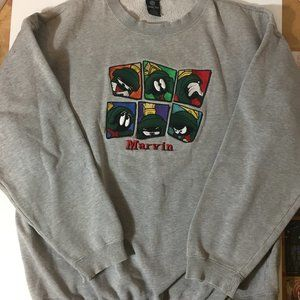 Vintage Marvin the Martian Sweatshirt WB